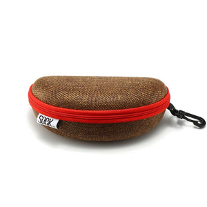 SOEK HESSIAN ZIPPER CASE