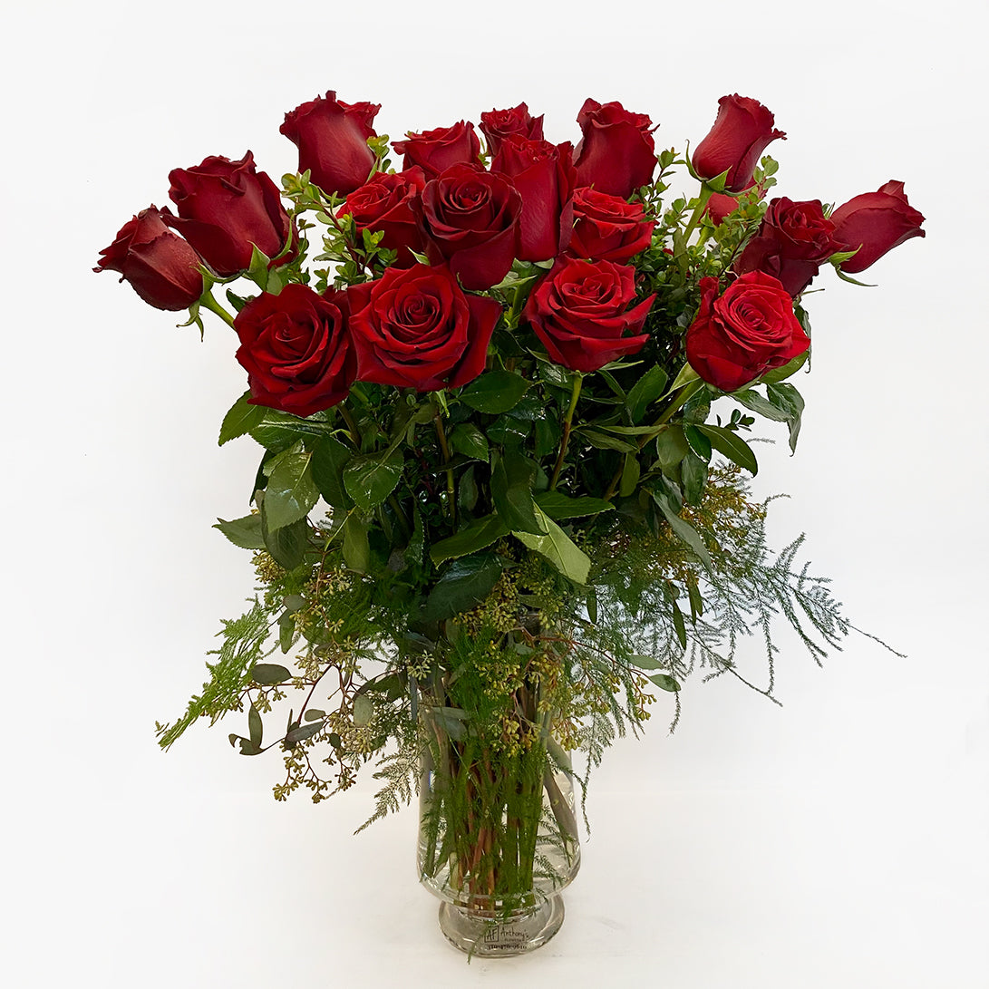 Classic Two Dozen Red Roses