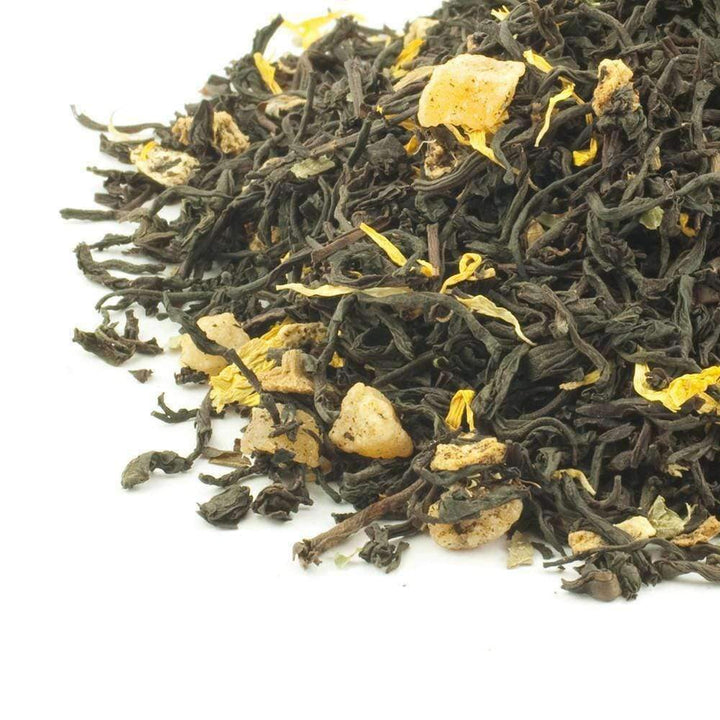 Apricot & Peach Flavoured Black Tea - The Soho Tea Company