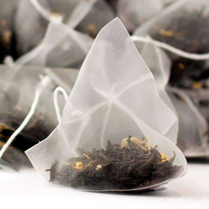 Apricot & Peach Flavoured Black Tea Pyramid Teabags - The Soho Tea Company
