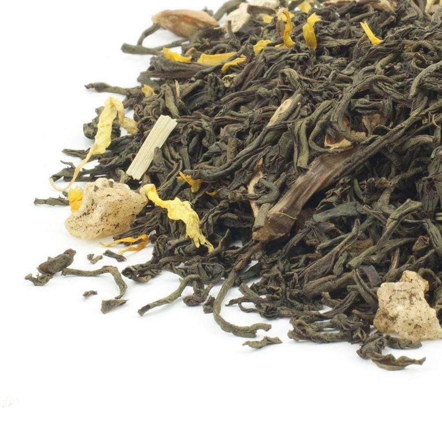 Lemon & Ginger Flavoured Black Tea - The Soho Tea Company