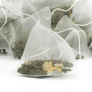 Lemon & Ginger Pyramid Teabags - The Soho Tea Company