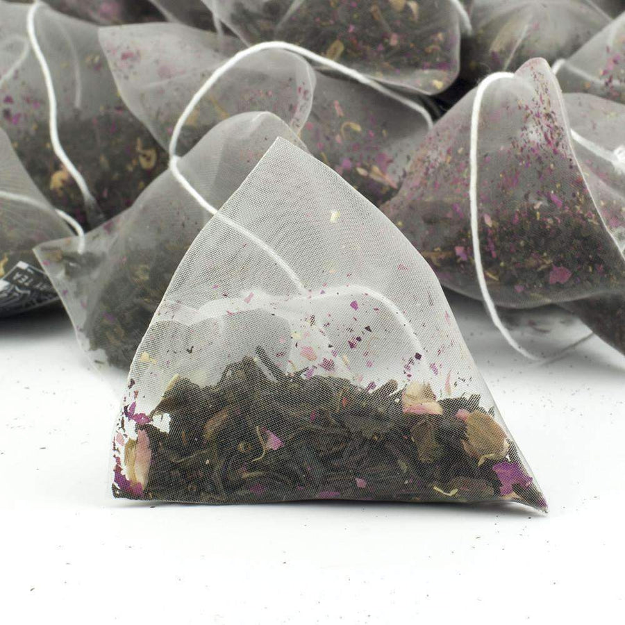 Rose Congou Superior China Black Tea Pyramid Teabags - The Soho Tea Company