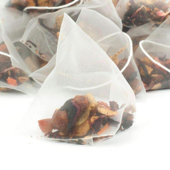 Exotic Strawberry Kiwi Fruit Tea Pyramid Teabags - The Soho Tea Company