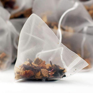 Orange & Apple Fruit Tea Pyramid Teabags - The Soho Tea Company