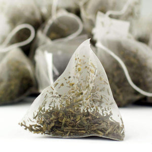 Japan Sencha Green Tea Pyramid Teabags - The Soho Tea Company