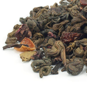 Pomegranate & Hibiscus Gunpowder Green Tea - The Soho Tea Company