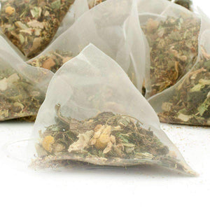 Time Out Herbal Tea Pyramid Teabags - The Soho Tea Company