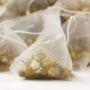 Egyptian Camomile Tea Pyramid Teabags - The Soho Tea Company