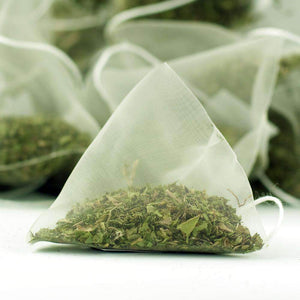 Peppermint Herbal Tea Pyramid Teabags - The Soho Tea Company