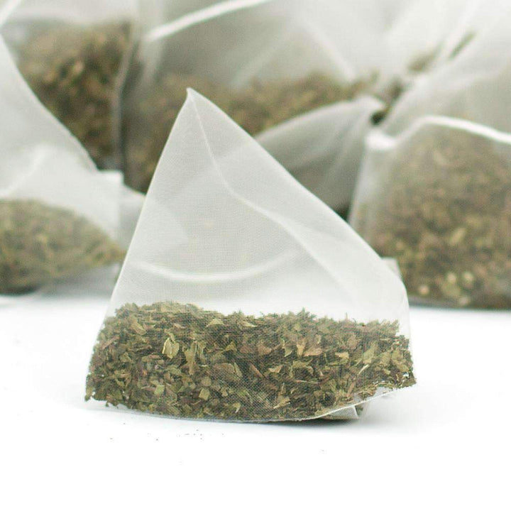 Spearmint Pyramid Teabags - The Soho Tea Company