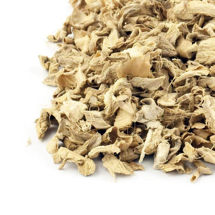 Dried Ginger Root Pieces - The Soho Tea Company
