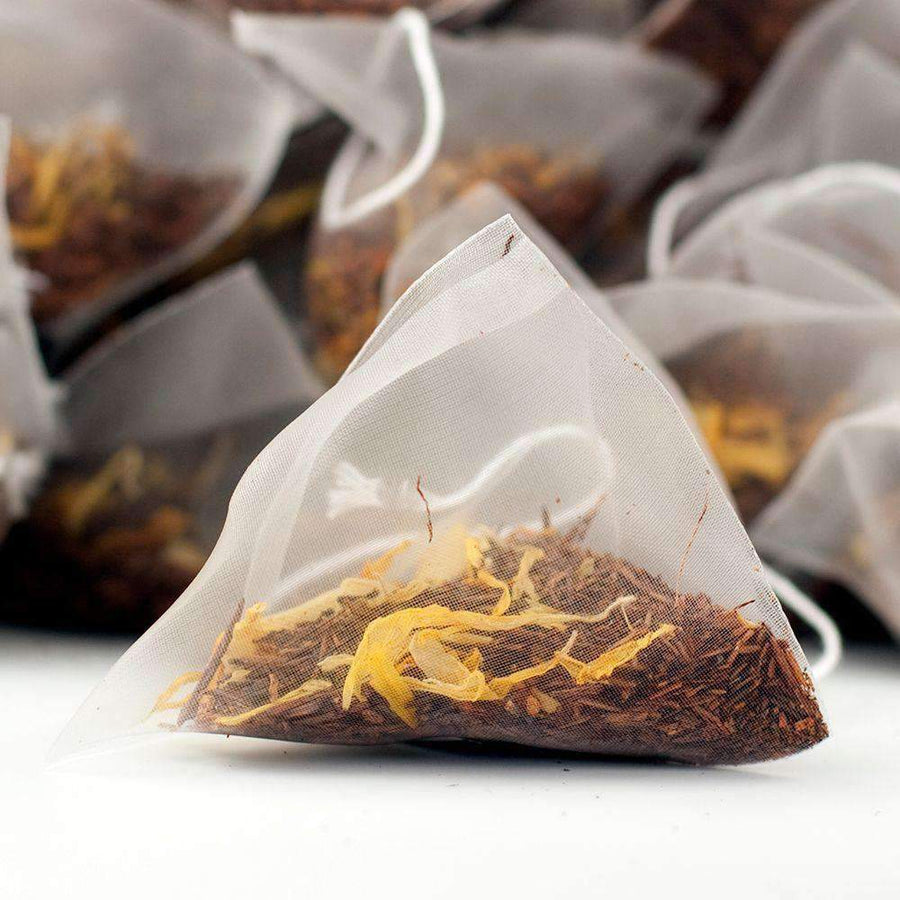 Totonac Vanilla Rooibos Tea Pyramid Teabags - The Soho Tea Company