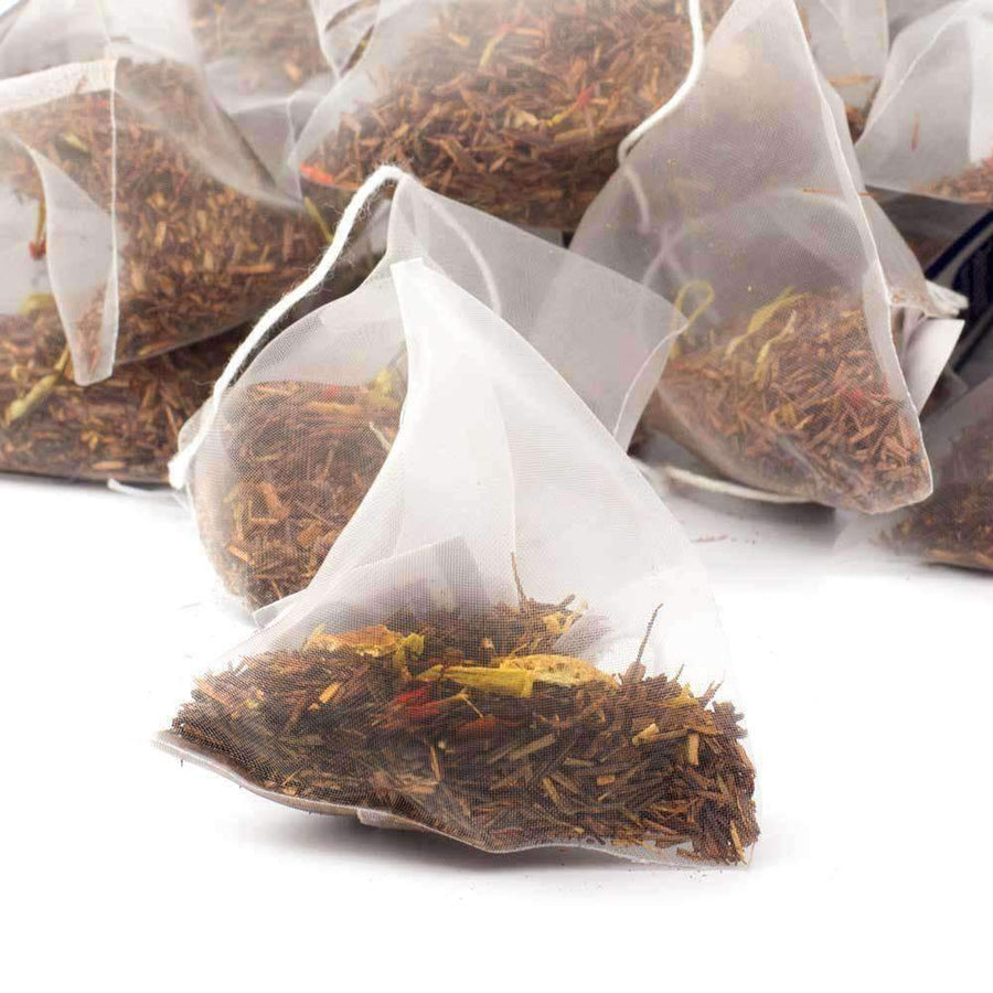 Sunshine Orange Rooibos Tea Pyramid Teabags - The Soho Tea Company