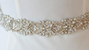 """Amy"" Bridal Belt"