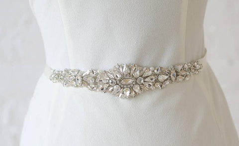 """Mallory"" Bridal Belt"