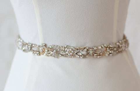 """Penelope"" Bridal Belt"