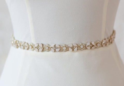 """Rosie"" Bridal Belt"