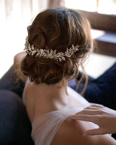 Viola Back Headpiece