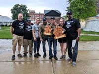 The Underdog BBQ team wins at Erie Rib Fest