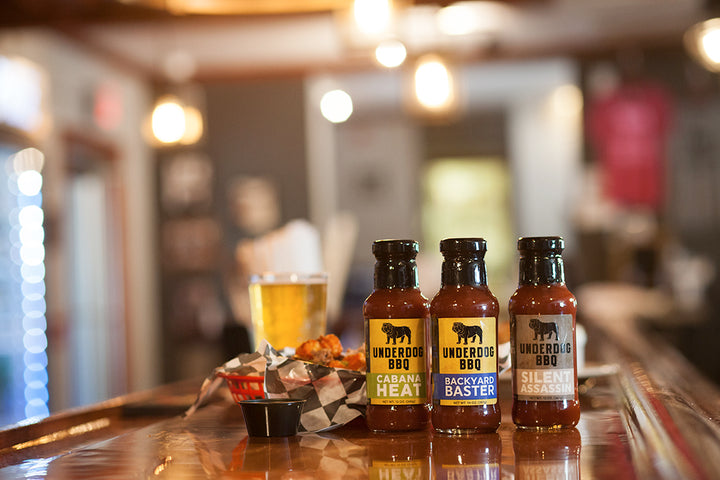 Underdog BBQ 3-Pack (All New Sauces!)