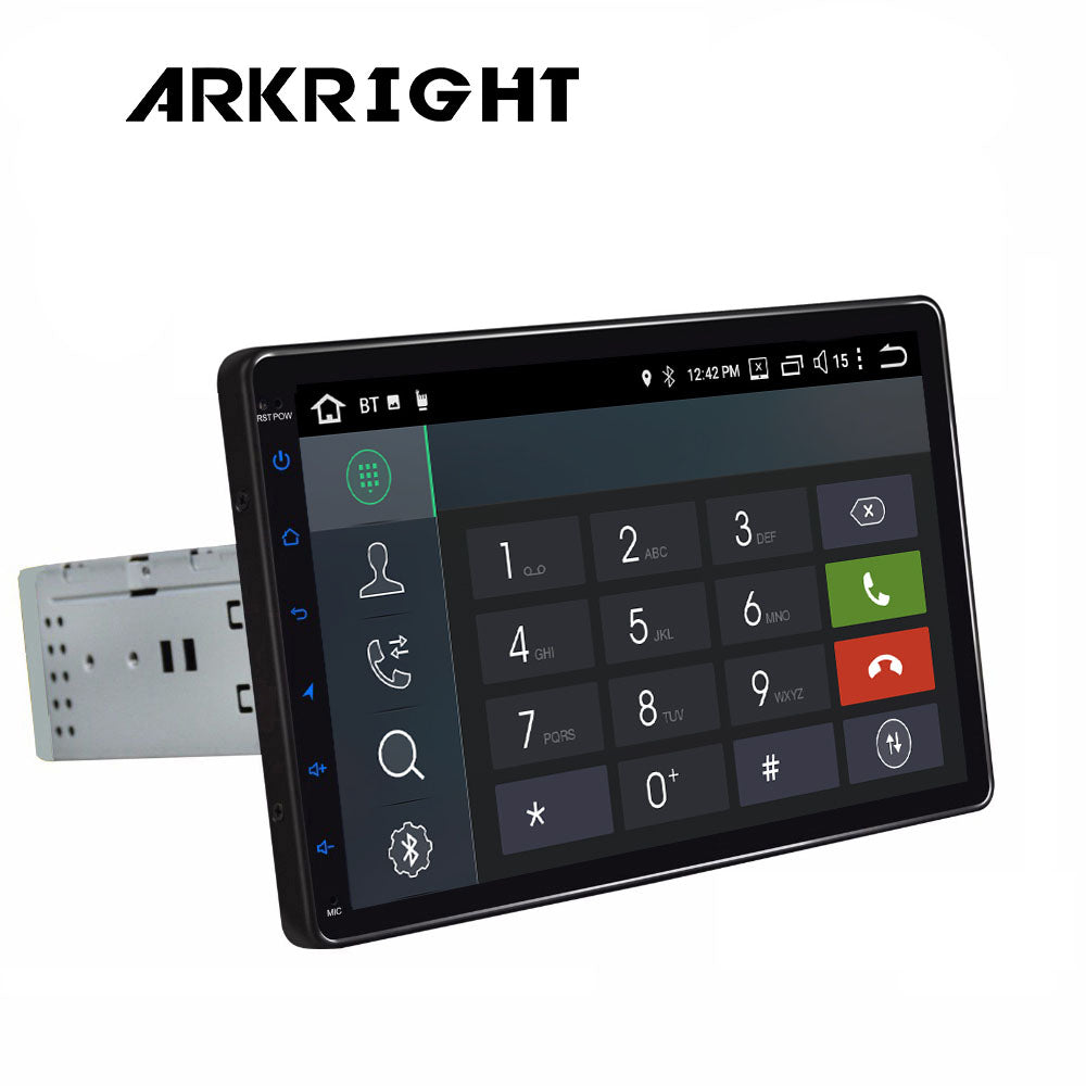 "ARKRIGHT 9"" 1 Din Car Radio Auto Android 8.1 Octa Core Wifi GPS Navigation Multimedia Player/auto player DSP IPS Screen 4G"
