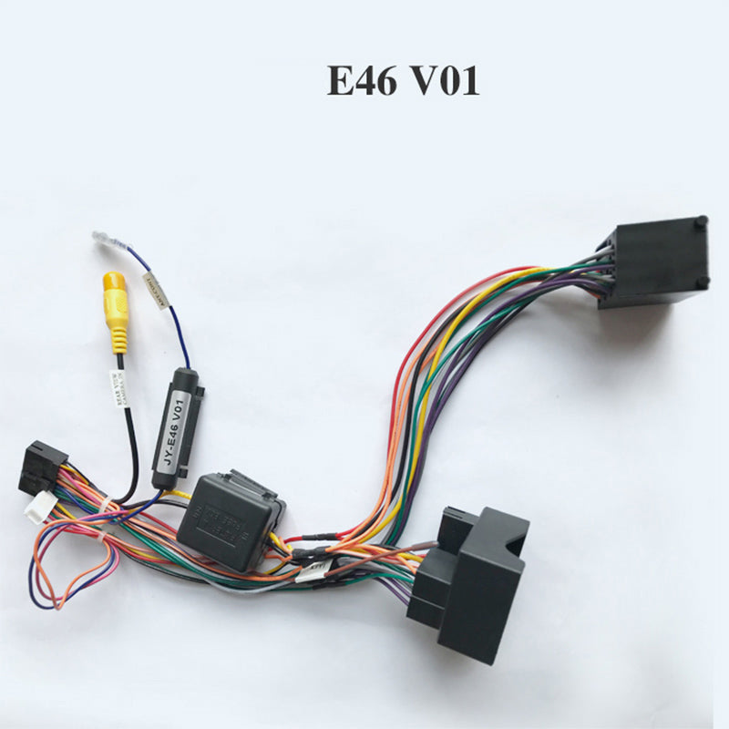 Wiring harness cable for BMW only for ARKRIFHT Car Radio Android Device