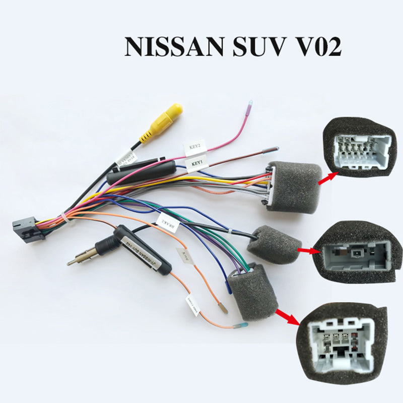 Wiring harness cable for NISSAN SUV