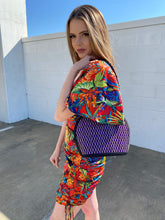 Load image into Gallery viewer, purple picnic bag