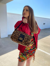 Load image into Gallery viewer, cheetah print bag