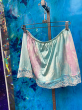 Load image into Gallery viewer, tie dye mini slip skirt