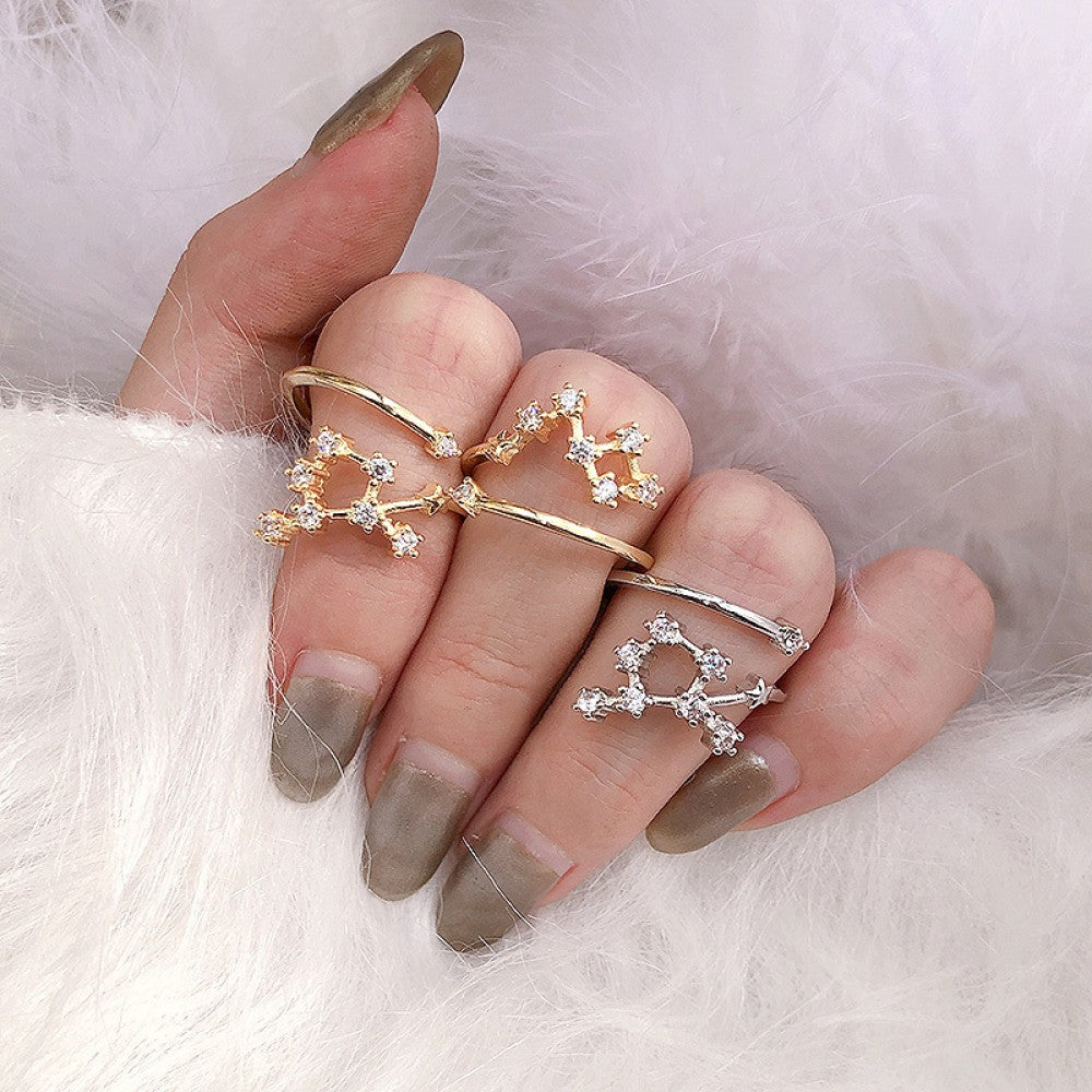 Constellation Knuckle Rings