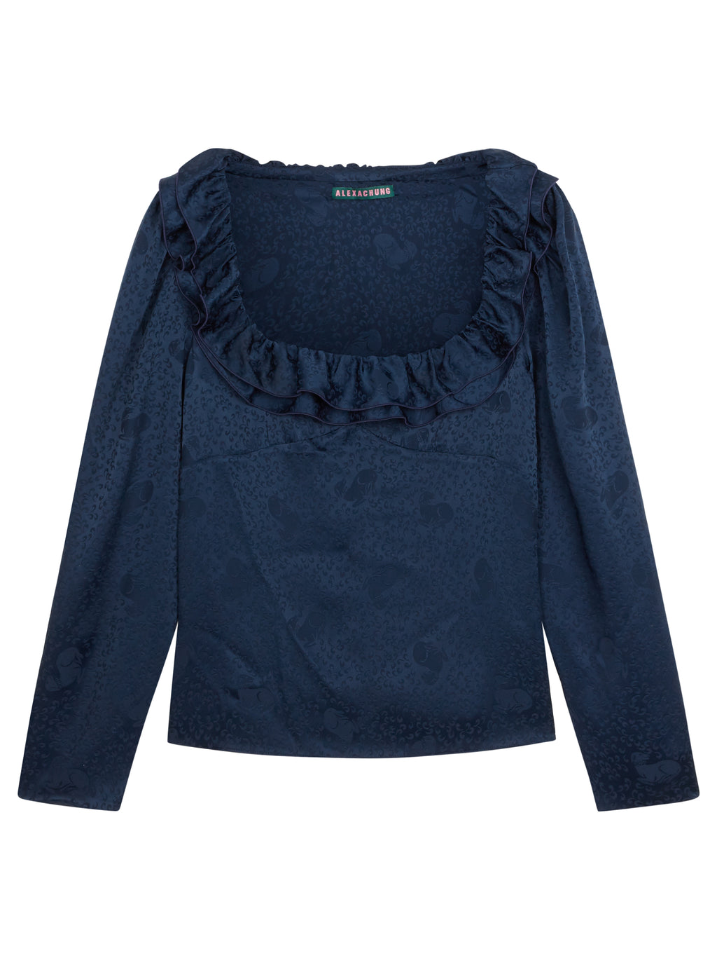 ALEXACHUNG - Hounds of Love Blouse