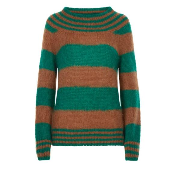 BIG STRIPE KNIT JUMPER - ALEXACHUNG