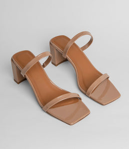 SANDALES EN CUIR VERNI TANYA - By Far