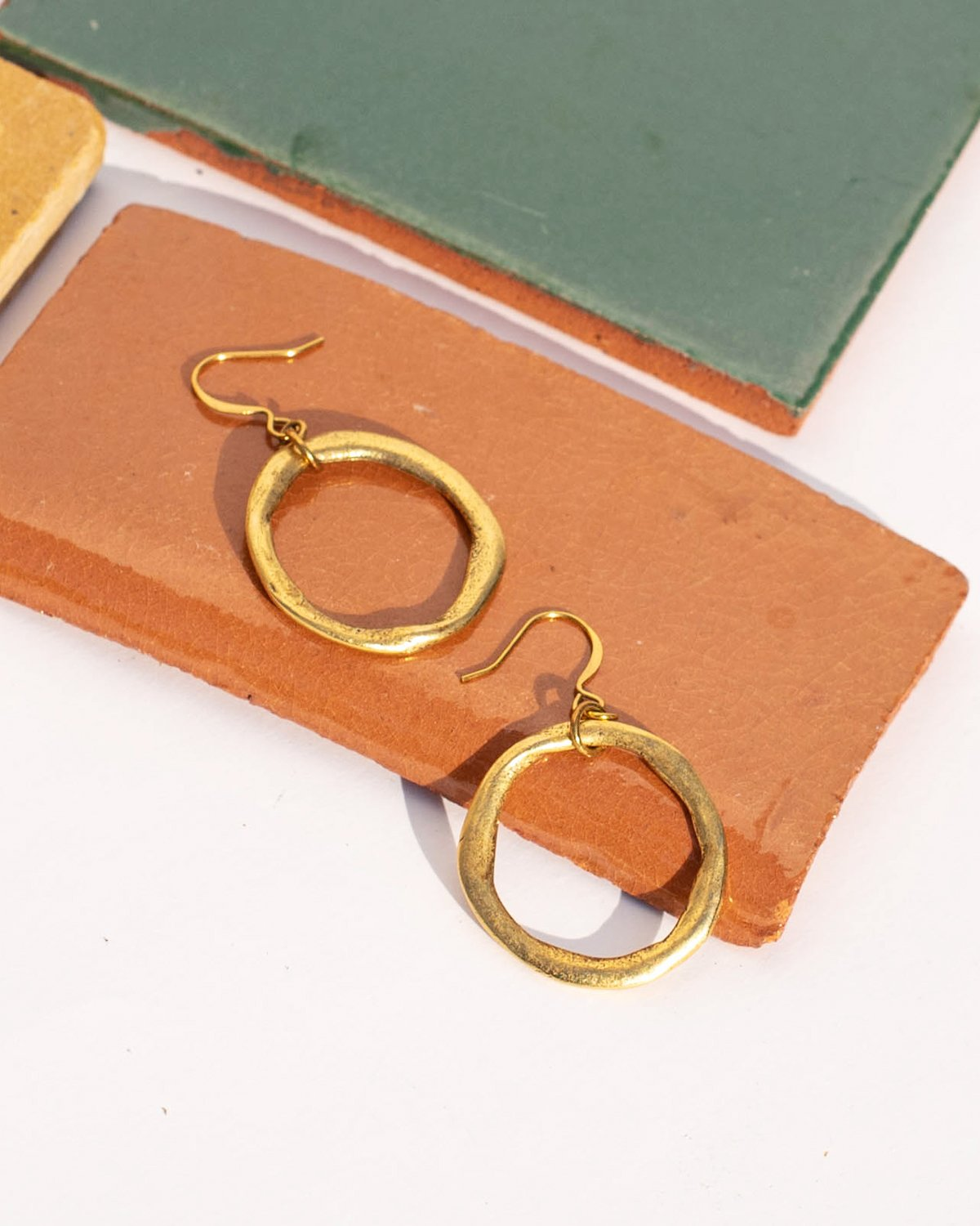 Ethical Gold Hoop Earrings for Women