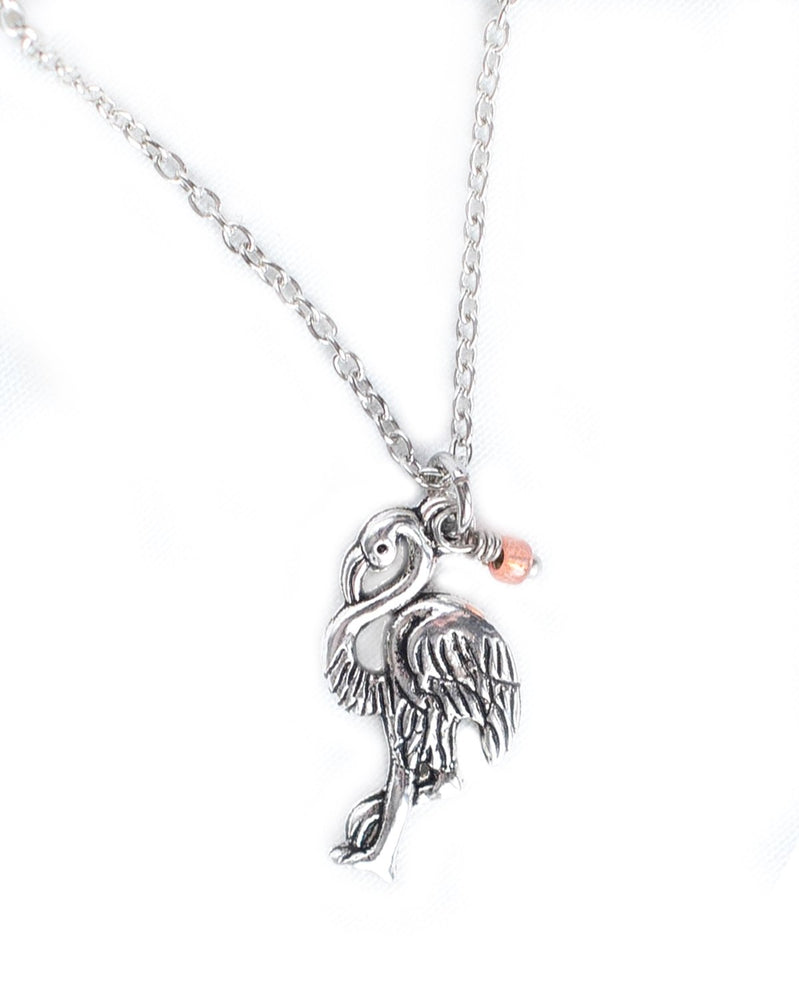 Flamingo Charm Necklace