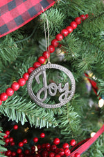 Joy Metal Art Ornament