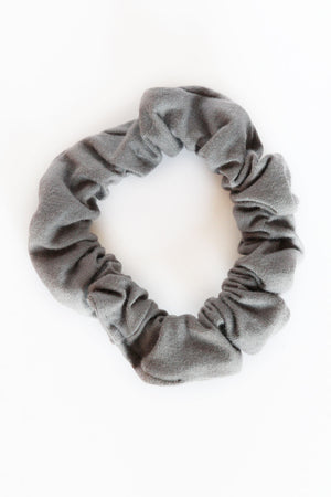 Charcoal Mini Scrunchie
