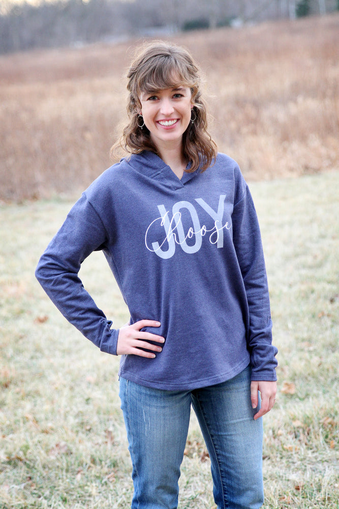 Choose Joy Ladies Weekender Hoodie