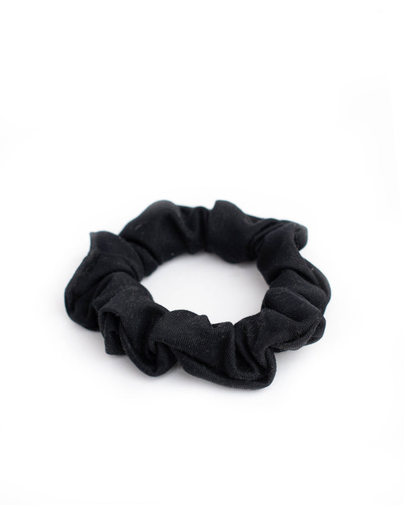 Black Mini Scrunchie