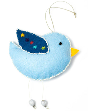 Blue Bird Ornamnent