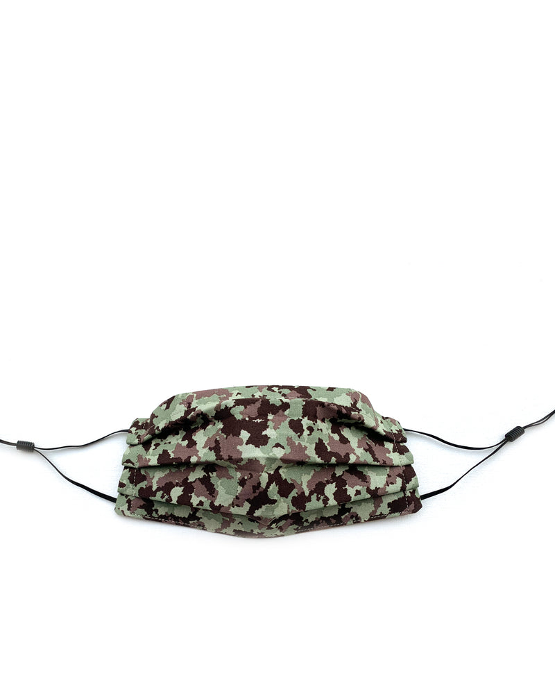 Adjustable Camo Mask with Flexible Nose Piece