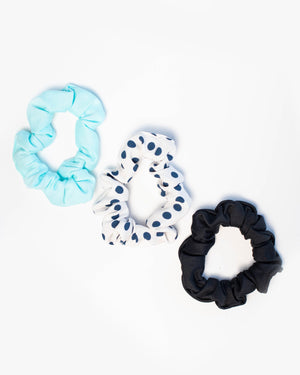 Mini Scrunchie Set of 3- Basics Collection