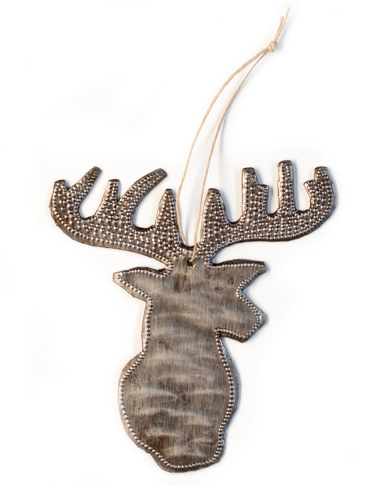 Deer Head Ornament