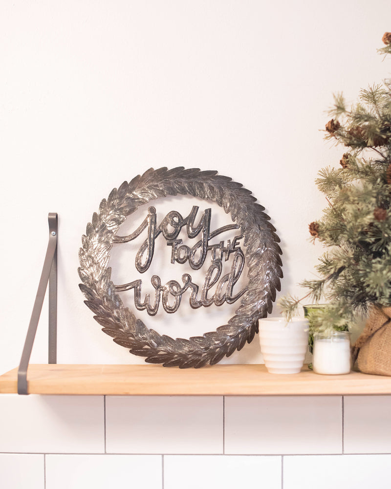 Joy to the World Metal Art