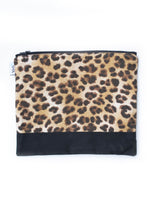 Leopard Print Accessories Bag
