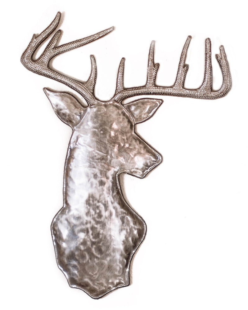 Deer Head Metal Art