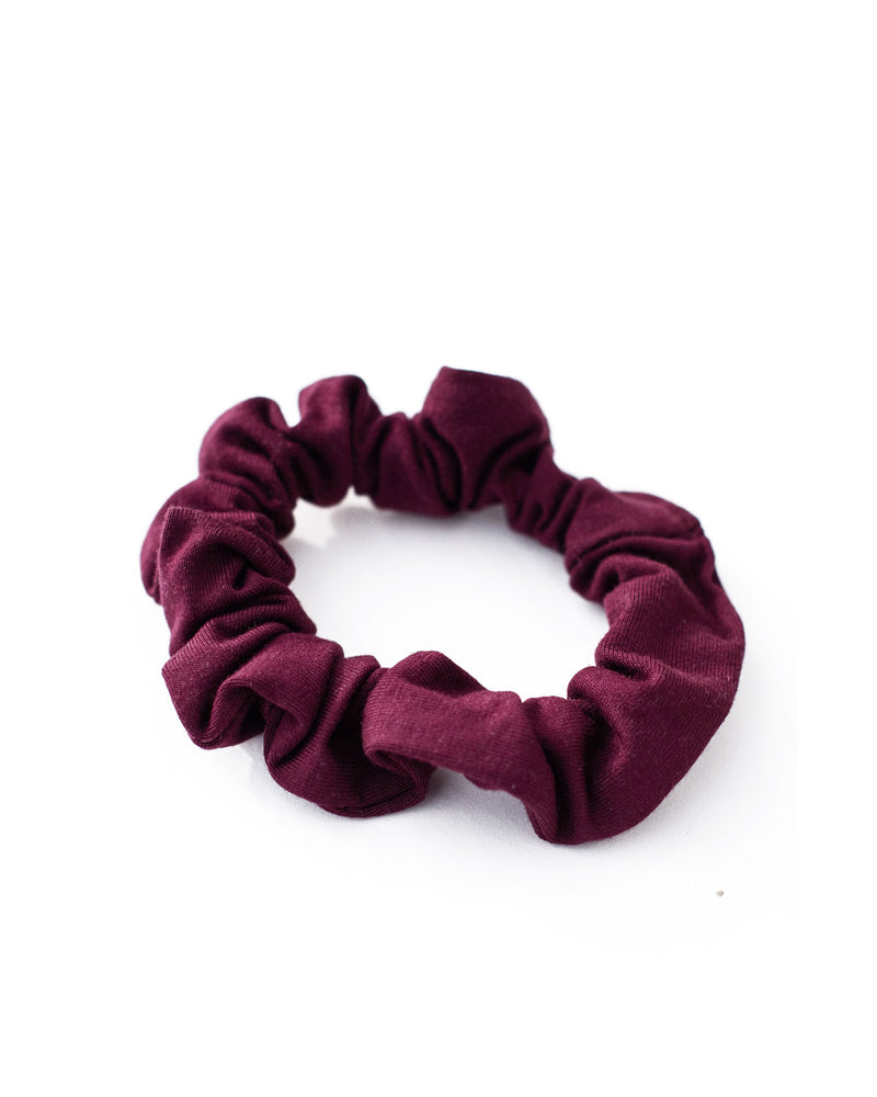 Mulberry Mini Scrunchie
