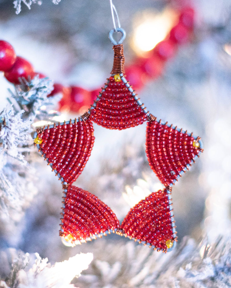 Red Star Ornament